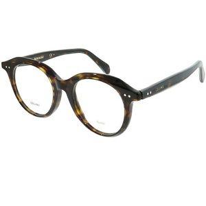 Celine Eyeglasses Brw Havana w/Demo Lens